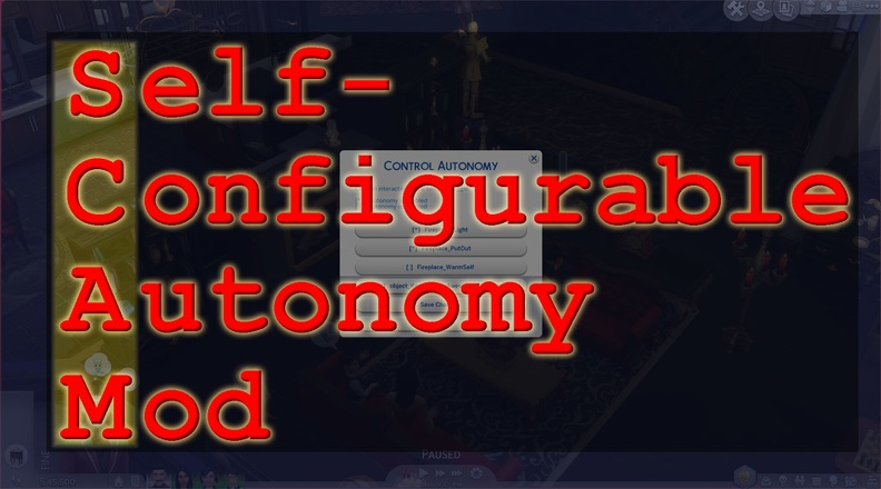 Self-Configurable Autonomy Mod