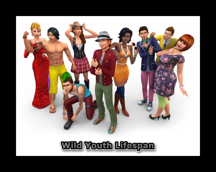 The Sims 4. Продолжительность жизни сима