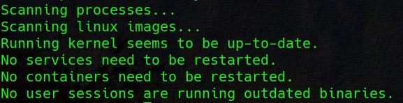 Нужна ли перезагрузка Linux после обновления?